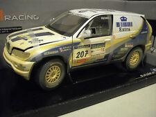 BMW X5 Rallye Raid 2004 #207 VENT DE SABLE 1/18 SOLIDO 9051-01 voiture miniature