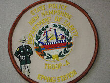 NEW HAMPSHIRE STATE POLICE TROOP A EPPING   STATION