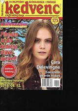 Hungarian Magazine Kedvenc Rejtvenylap 2018/15 - Cara Delevingne on cover