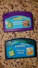 Leap Frog Leap Pad Pro Interactive Classics & Science Game Cartridge LOT