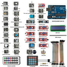 UNO R3 Basic Starter Learning 37X Sensor Module Board Kit For Arduino
