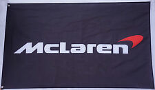 New Black McLaren Flag, For McLaren car banner flags 3X5 Ft Free shipping