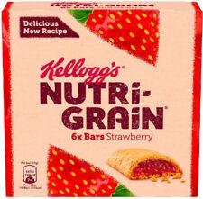 Kelloggs Nutri-Grain Breakfast Bars Strawberry  3x6x37g