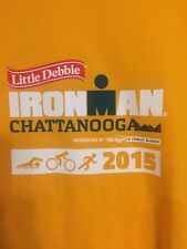 2015 Ironman Chattanooga Triathlon T-Shirt Volunteer Yellow Small Zync Mens
