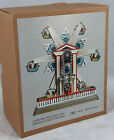 TIN TOY WIND-UP CLOCKWORK STAR FERRIS WHEEL CHRISTMAS GIFT CLASSIC COLLECTIBLE