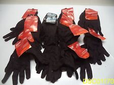 Qty = 13 Pair: Size = L Large Utility Gloves Brown
