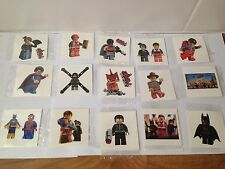 10 X LEGO Movie TemporaryTattoo Party Bag filler , UK Seller