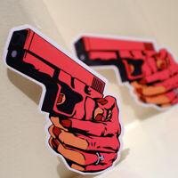 "Anime Japan Pistol Gun Manga Girl Killer 5x3"" Decal Sticker #4835"