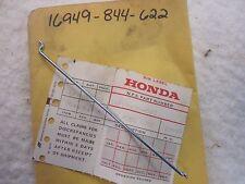NOS OEM Honda 16949-844-622 LEVER ROD / FUEL COCK ROD E900 GENERATOR