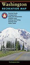 National Geographic Benchmark Washington WA Recreation/Public/Hunting/Road Map