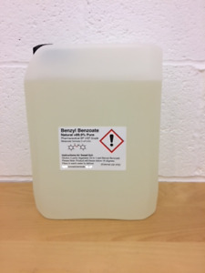 Benzyl Benzoate 99.9%  5000ml (5lt) SWEET ITCH Pure Grade