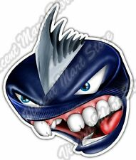 "Monster Puck Hockey Spike Sport Athletics Car Bumper Vinyl Sticker Decal 4""X5"""