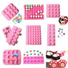 Silicone Letter Star Cake Chocolate Mold Ice Cube Soap Jelly Baking Mould Tray