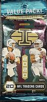 2020 Panini Illusions Football Sealed Value Pack HERBERT, TUA, BURROW RC?