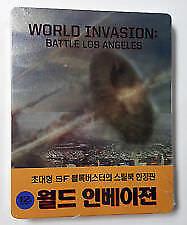WORLD INVASION ; Battle Los Angeles blu ray Steelbook( NEW ) English audio REG A
