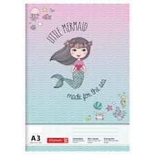 BRUNNEN Zeichenblock Mermaid DIN A3