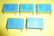 5 x Wima FKP1  Kondensator 7,5 nF / 7500 pF 2000 V DC / 600 V AC  Neuware