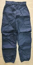 More details for ex armed police units derby unitex frctr54 combat tactical trousers size 80r uk