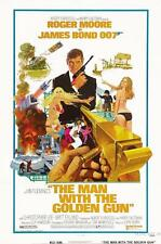 THE MAN WITH THE GOLDEN GUN BOND VINTAGE MOVIE POSTER A4 A3 ART PRINT CINEMA