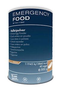 Volleipulver 500g Dose Hühnervollei Notnahrung MDH 2035 Notvorrat EF Prepper