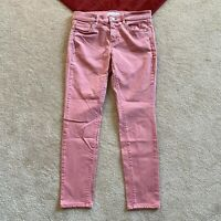 Made And Loved LOFT Petites 27 / 4 Modern Skinny Crop Jeans Actual W 28.5 x I 26
