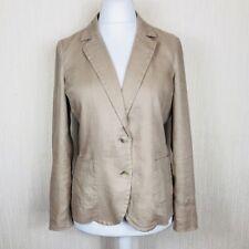 PURE Collection Ladies Jacket Size 14 UK Blazer style 100% Linen