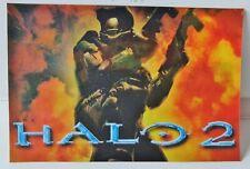 Halo 2 Masterchief Lenticular P0Stcard Xbox Eb Games Pre-Order Promo 2004