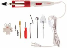 Clover 9101 Mini Iron II The Adaptor Set With 4 Extra Tips AC 120V NEW!