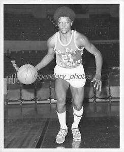 1971 Willie Jackson Basketball So Cal All Stars Original New Service Photo