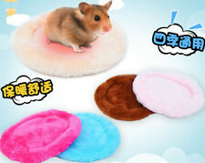 Hamster Small Pet Warm Fleece Mat Nester Gerbil Hedgehog Hammock House Bed
