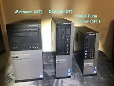 Dell Optiplex 9020 (320GB X2 HD, Intel Quad Core i7 vPro, 3.4GHz, 8GB) Win10 Pro