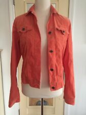 Orange Theory Corduroy Fall Jacket Small