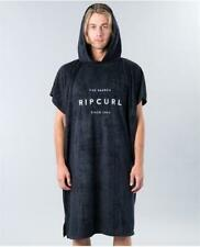 Rip Curl PROMO VALLEY HOODED TOWEL PONCHO Beach Surf Towel - CTWCL1 Black