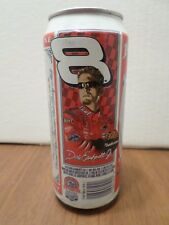 Budweiser Dale Earnhardt Jr. #8 NASCAR Racing Portrait 16 oz Beer Can