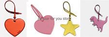 Coach bag charm Glitter Heart , Ster, Dinosaur Boxed Ornament