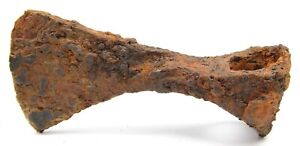 Ancient Rare Authentic Viking Kievan Rus Scythians Iron Battle Axe 7-9 cent AD