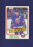 Denis Potvin HOF 1981-82 O-PEE-CHEE OPC Hockey #199 (NM) New York Islanders