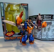 TRANSFORMERS BEAST WARS Transmetals Optimal Optimus Complete Box Instructions