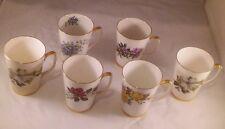 Royal Victoria Fine Bone China England Coffee Cup Mugs Assorted Flowers