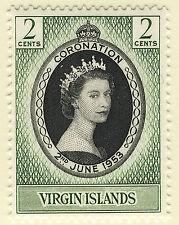 Elizabeth II (1952-Now) British Virgin Islander Stamps