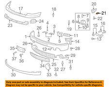 GM OEM Front Bumper-Side Bracket Retainer 11609952