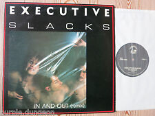 "EXECUTIVE SLACKS - In And Out (remix)  12""  Maxi  FUNDAMENTAL RECORDS - PRAY 1"