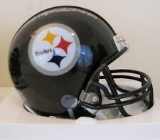Ted Marchibroda Signed Pittsburgh Steelers Mini Helmet Starting QB 1950's