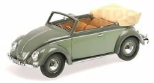 VW Escarabajo (Beetle) 1200 Convertible (verde) 1949