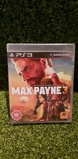 Max Payne 3 PS3, Brand New & Factory Sealed, Rockstar games