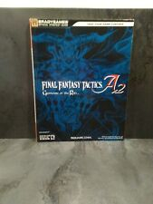 Guide BRADYGAMES - FINAL FANTASY Tactics A2: Grimoire of the Rift - US Excellent