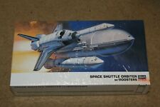 New Hasegawa 10729 Nasa Space Shuttle Orbiter w/ Boosters 1/200 Scale Model Kit