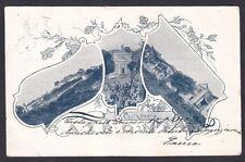 TORINO CASTAGNETO PO 06 VEDUTINE Cartolina viaggiata 1903