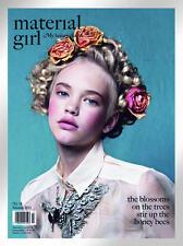 MATERIAL GIRL Magazine Issue 14 - Summer 2011 EMMA NEW