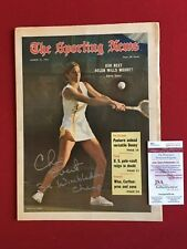 "1972, Chris Evert,""Autographed"" (JSA), ""Sporting New"" (Full Signature) No Label"